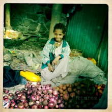Street Stall, Gondar