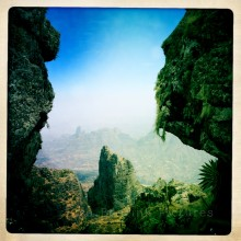 Landscape Simien Mountains