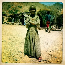Young girl, northern Ethiopia